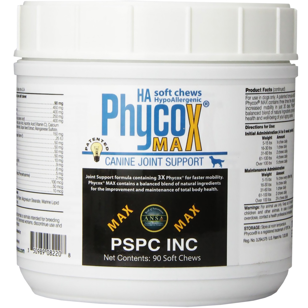 Phycox MAX HA Soft Chews (90 count)