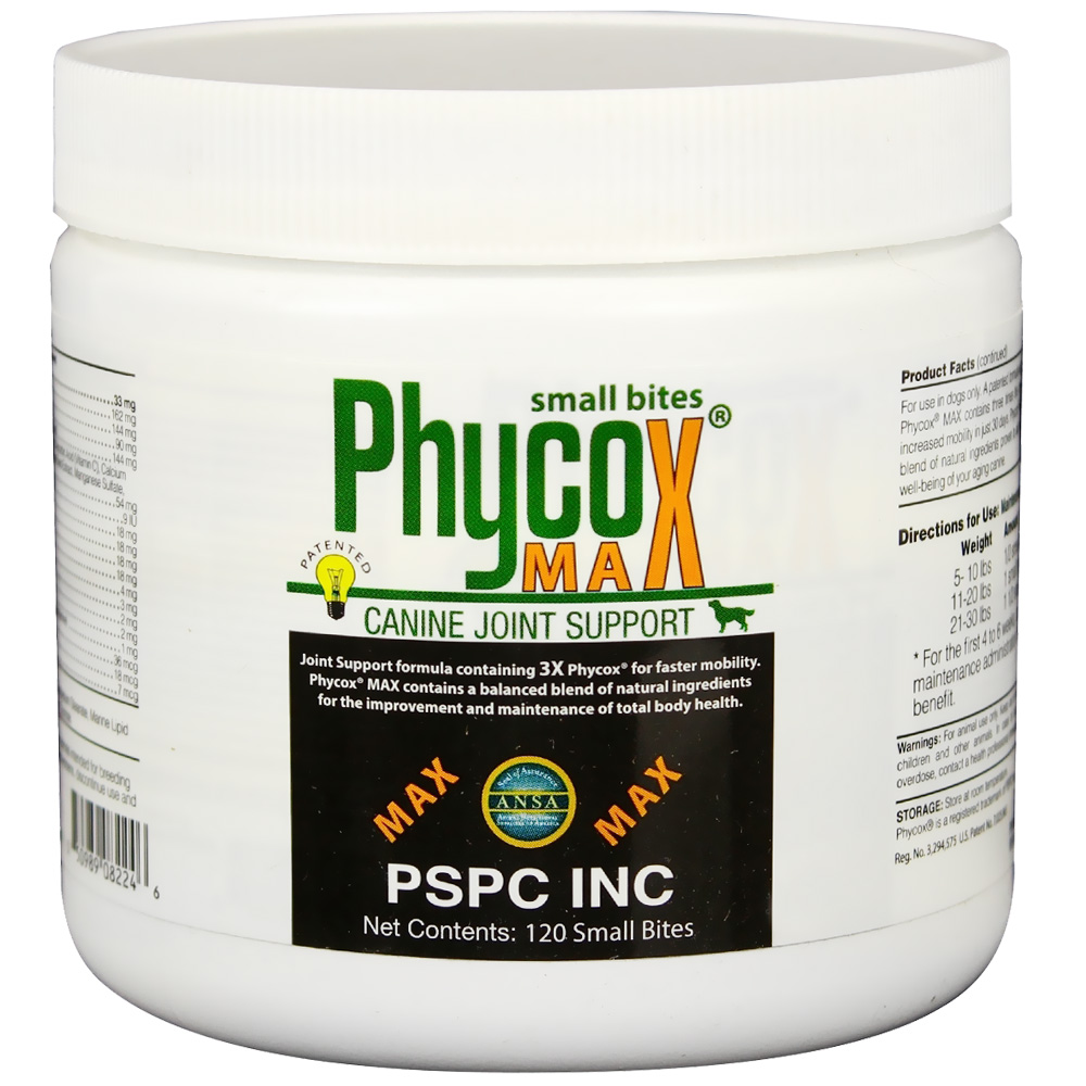 Phycox MAX Small Bites Soft Chews (120 count)