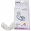 Pioneer Pet Replacement Filters for Ceramic and Stainless Steel Fountains (3 pack)