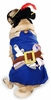Pirate Pup Dog Costume - XSMALL