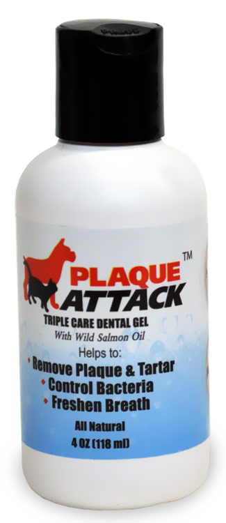 Plaque Attack Dental Gel (4 oz)