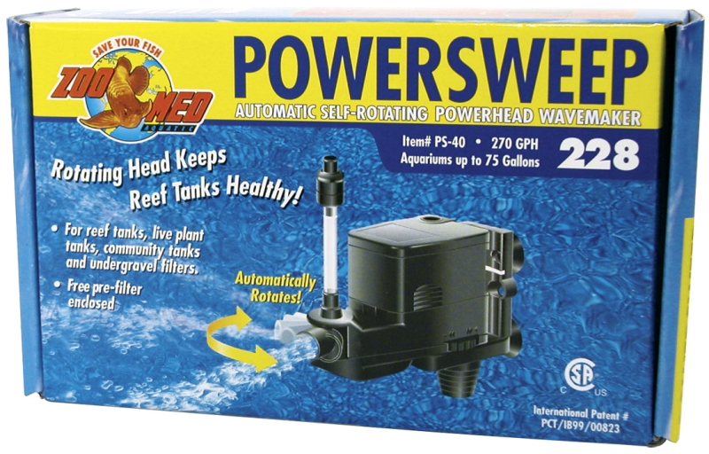 PowerSweep 228 (270 GPH)  UL Listed
