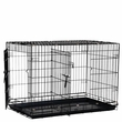 "Precision Black Great Crate 30x19x22"" - Two Door"