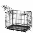 "Precision Black ProValu2 Crate 6000 48x30x32"" - Two Door With Lock System"