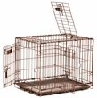 Precision Great Crate 1000 - 3 Door with Lock System & Quiet Links, Copper Hammertone 19x12x15""
