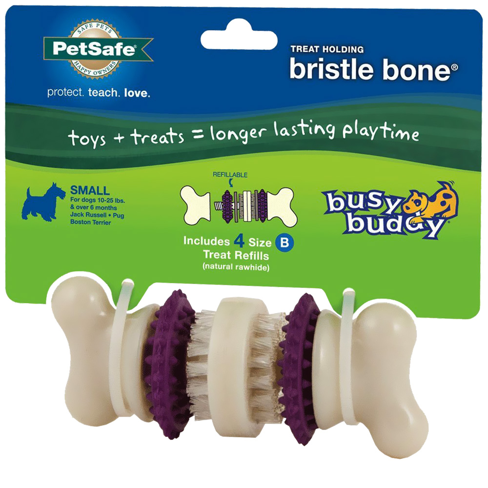 Premier Busy Buddy Bristle Bone (SMALL)
