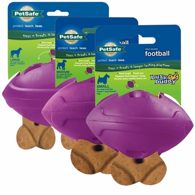 Premier Busy Buddy Rubber Football - Purple