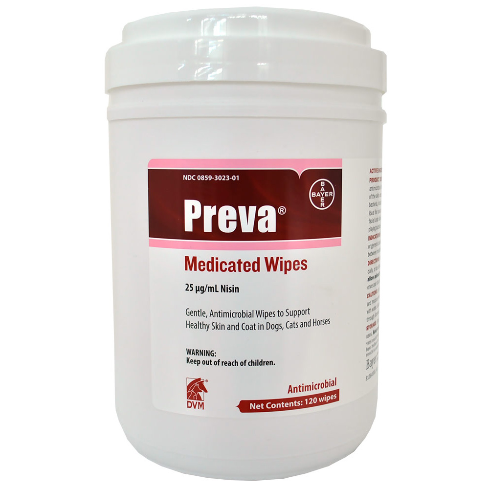 Preva Medicated Wipes (120 count)