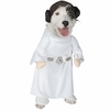Princess Leia Dog Costume - Medium