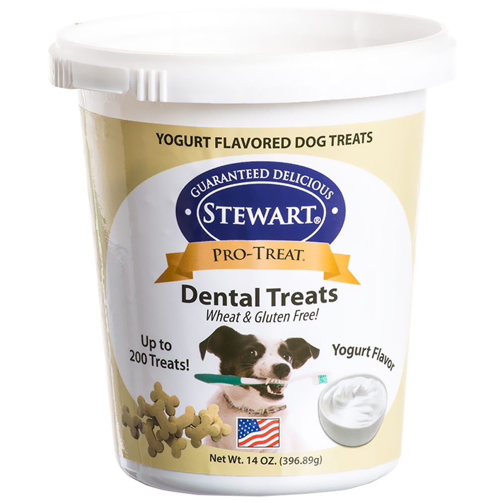 Pro-Treat Dental Treats - Yogurt Flavor (14 oz)