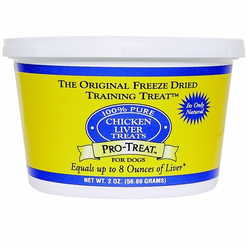 Pro-Treat Freeze Dried - Chicken Liver Treats (1.5 oz)