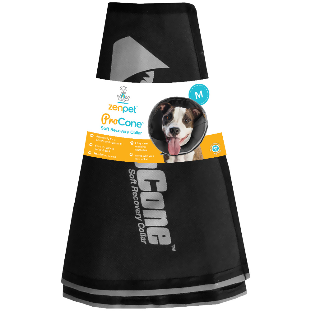 ZenPet™ ProCone™ Soft Recovery Collar - Medium