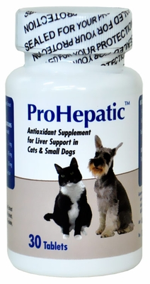 Prohepactic Liver Support Supplement for Cats & Small Dogs (30 Tablets)