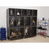 ProSelect Modular Kennel Cage Banks - Graphite