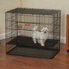 ProSelect Puppy Playpen w/Plastic Pan Large - Black