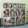 ProSelect Stainless Steel Modular Kennel Cage - 3 Unit