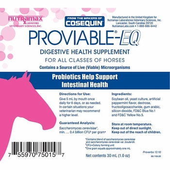 Proviable-EQ Equine Paste (30 mL)