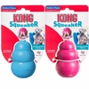 Puppy Kong Squeaker Toy Blue Medium - Pink