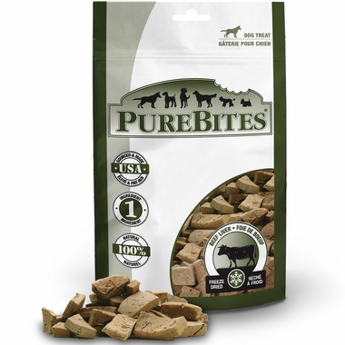 PureBites Beef Liver Dog Treat (16.6 oz)