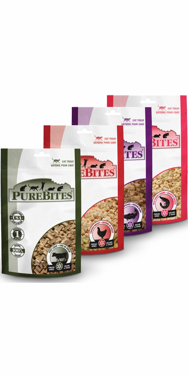 PureBites Cat Treats (SAMPLER 4 PACK)