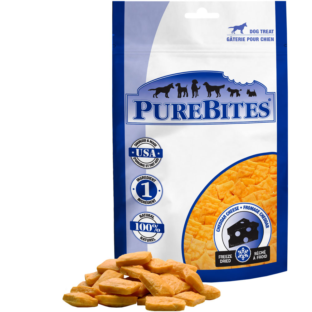 PureBites Cheddar Cheese Dog Treat (8.8 oz)
