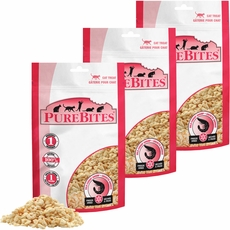 PureBites Shrimp Freeze-Dried Treats for Cats - 3 PACK (0.84 oz)