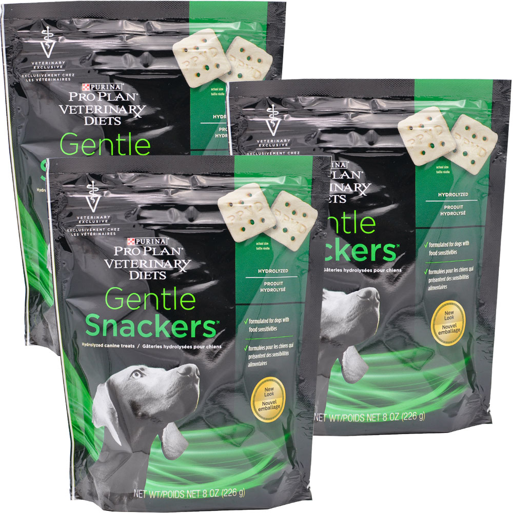 Purina Veterinary Diets Gentle Snackers Dog Treats (24 oz) 3-PACK
