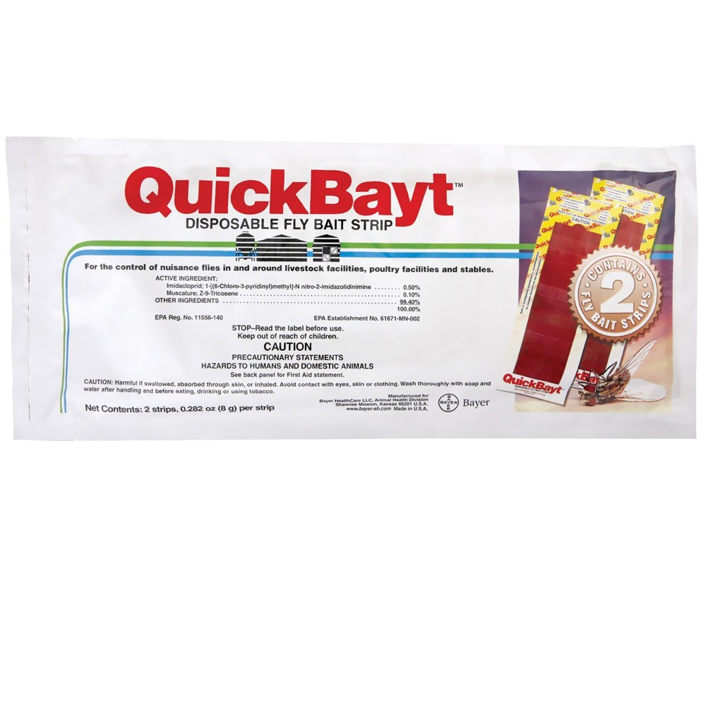 QuickBayt Disposable Fly Bait Strip