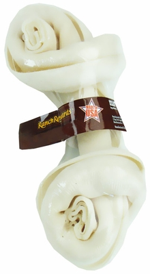 "Ranch Rewards American Beefhide Bone Natural Flavor 7""-8"""