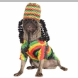 Rasta Dog Costume - Large