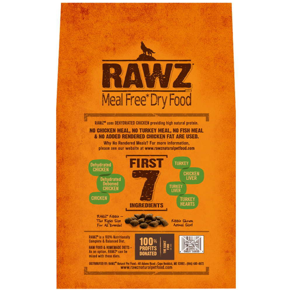 Rawz Meal Free Dog Food