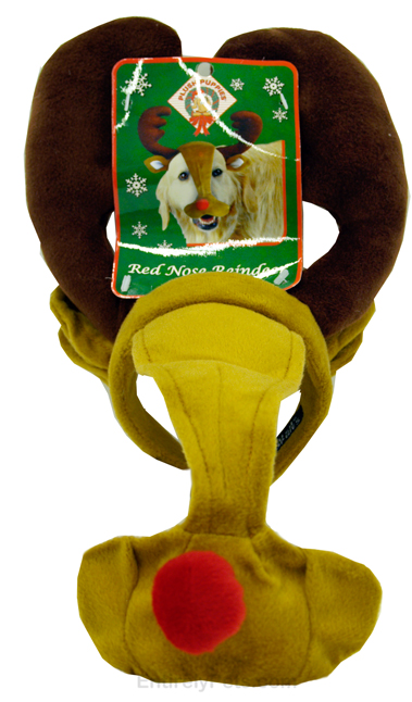 Red-Nosed Reindeer Headband