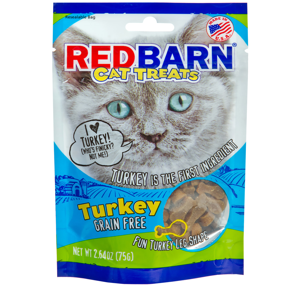 Redbarn Cat Treats - Turkey (2.64 oz)