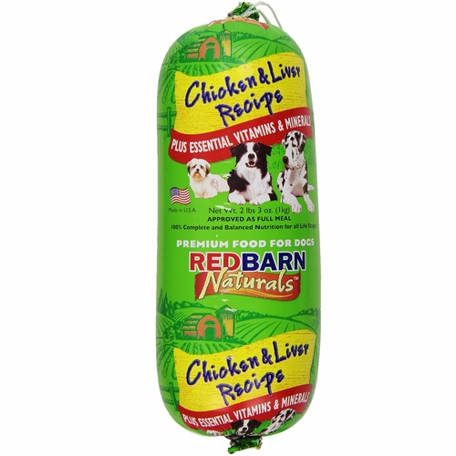 Redbarn Chicken and Liver Rolled Food (2.3 lbs)