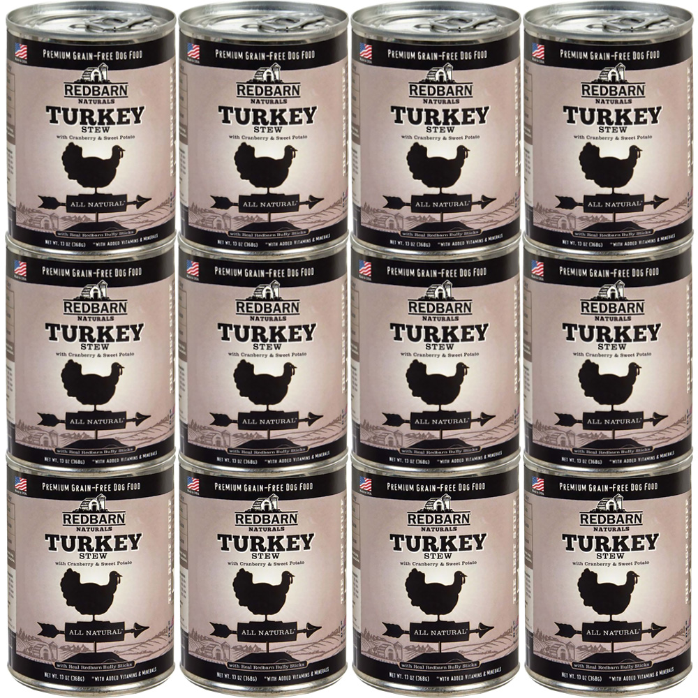 Redbarn Dog Food - Quirky Turkey (13.2 oz) - 12 pack