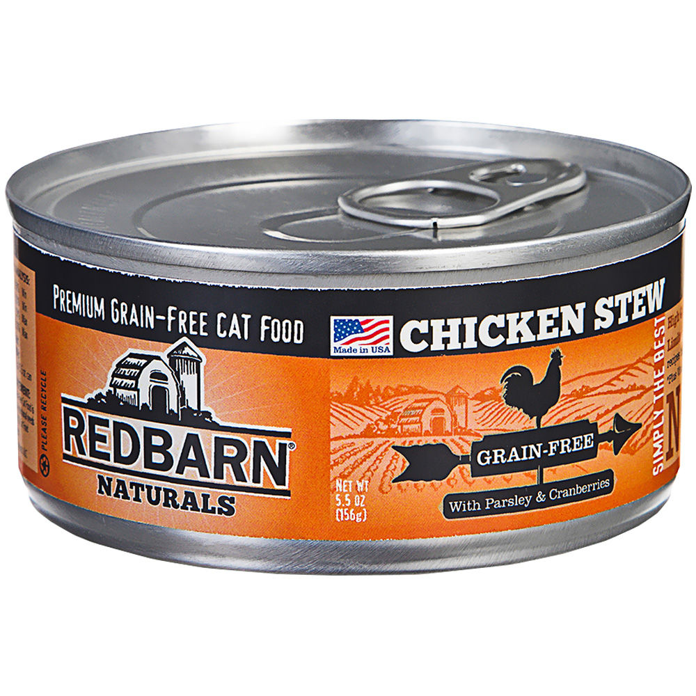 Redbarn Pate Grain-Free Cat Food - Chicken (5.5 oz)