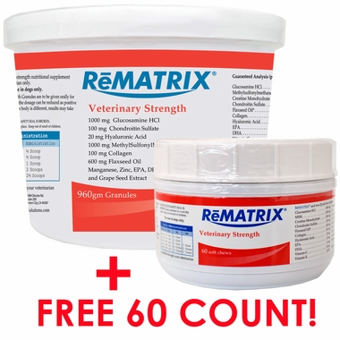 ReMATRIX Granules (60 Doses) PLUS FREE 60 Soft Chews!