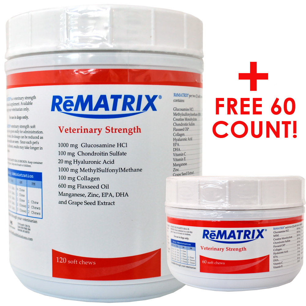 ReMATRIX Soft Chews (120 Chews) PLUS FREE 60 Count!