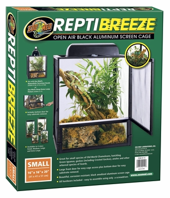 "ReptiBreeze Aluminum Screen Cage (18""x18""x36"") lg"