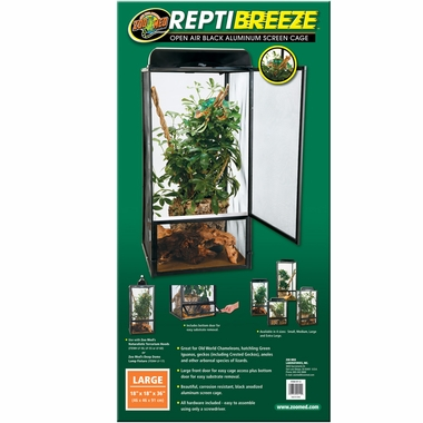 ReptiBreeze Aluminum Screen Cage (18