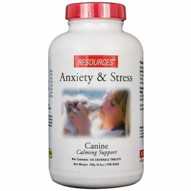 RESOURCES Canine Anti-Anxiety & Calming Formula 120 Tablets