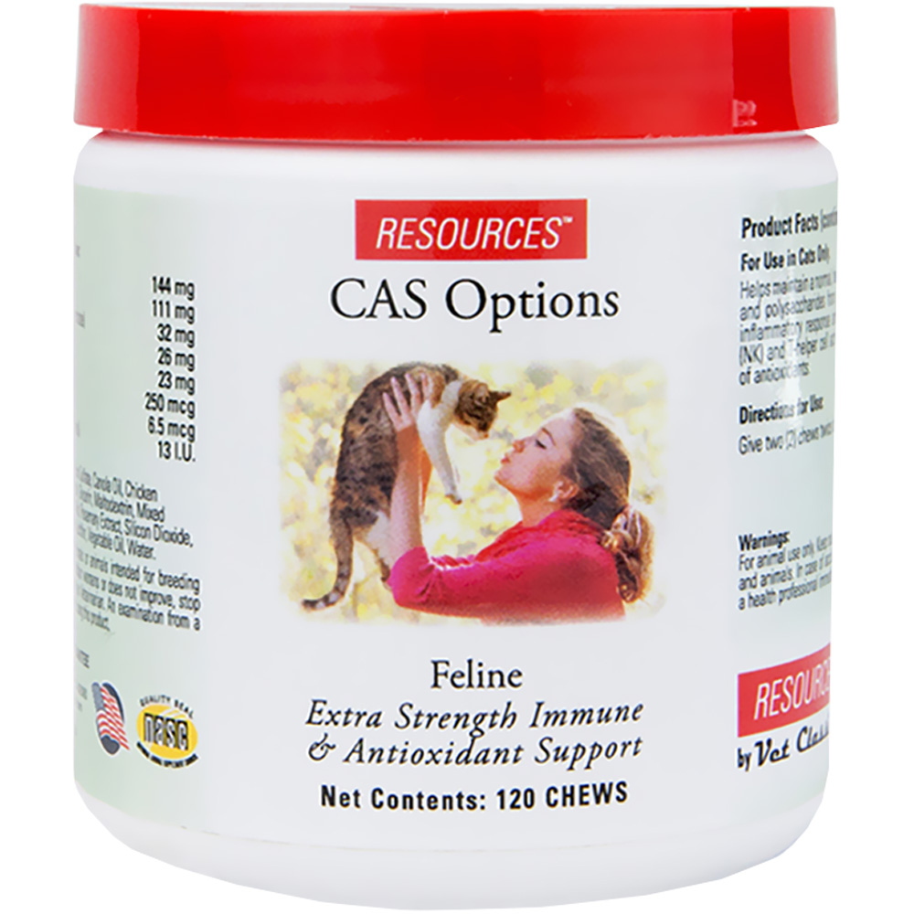 RESOURCES Feline CAS Options (120 chews)
