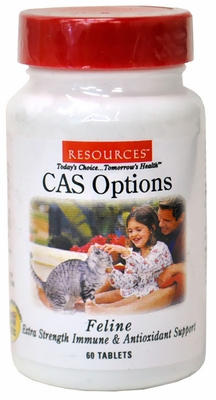 RESOURCES Feline CAS Options (60 Tablets)