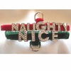 Rhinestone Dog Collars - Naughty or Nice (Small)