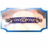 Rhinestone Dog Collars - Silver Bells (Medium)