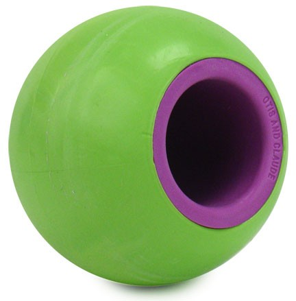 Rita Fetch & Treat Ball - Keep Away Kiwi (GREEN)