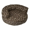 Rotator Bolster Pet Bed - Hot Chocolate Round