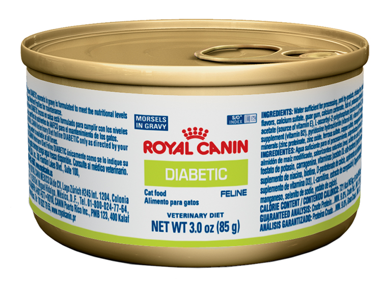 ROYAL CANIN Feline Diabetic Morsels In Gravy Can (24/3 oz)