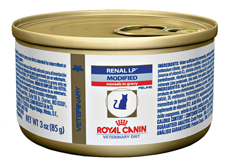 ROYAL CANIN Feline Renal LP Modified Morsels in Gravy Can (24/3 oz)