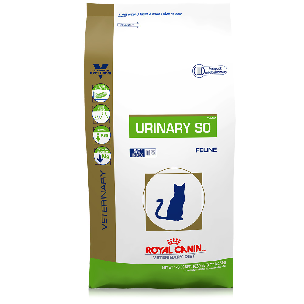 ROYAL CANIN Feline Urinary SO Dry (7.7 lb)